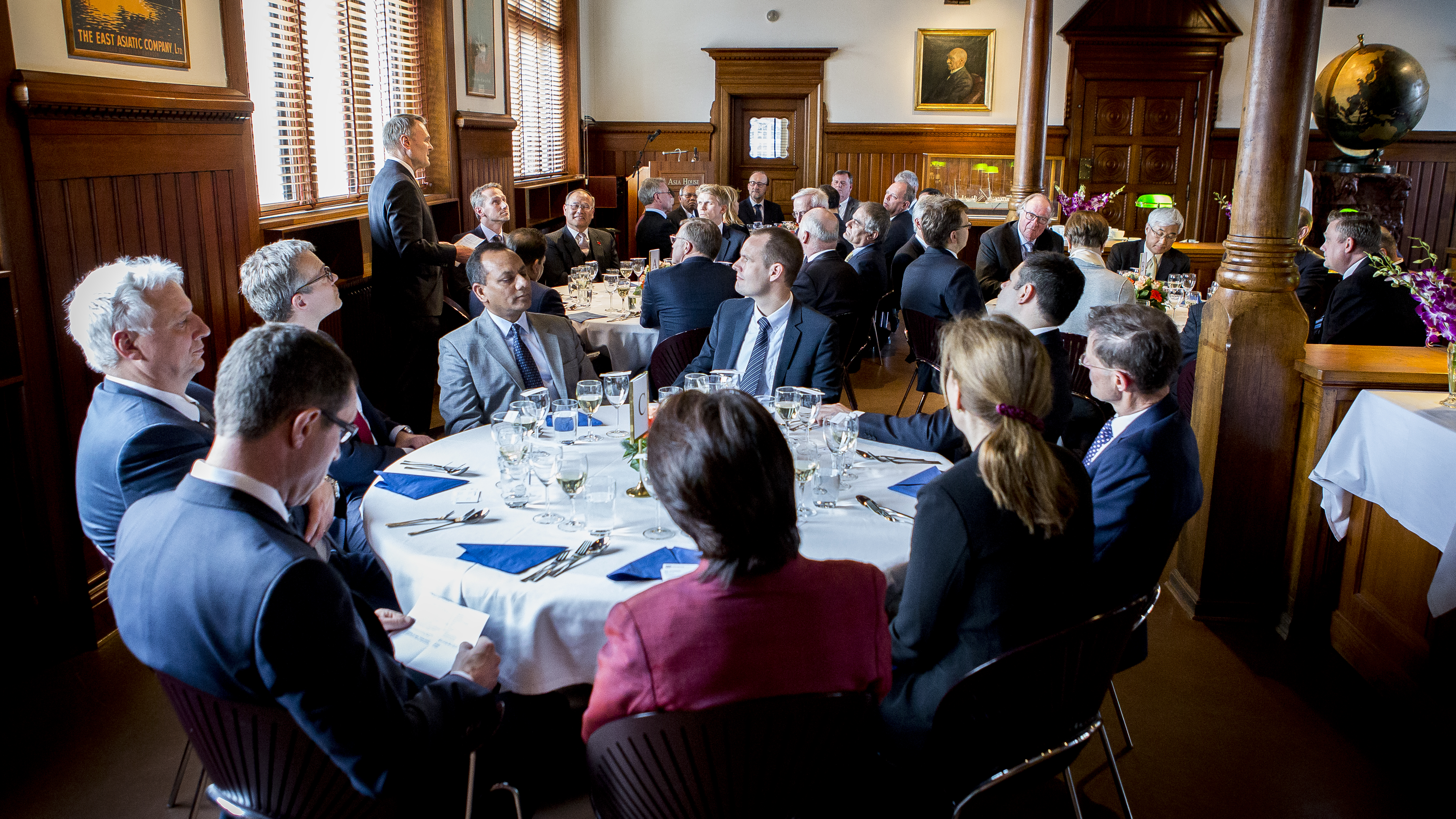 26 April 2017: Spring Luncheon for Ambassadors from Asian Countries and Asia House Partners