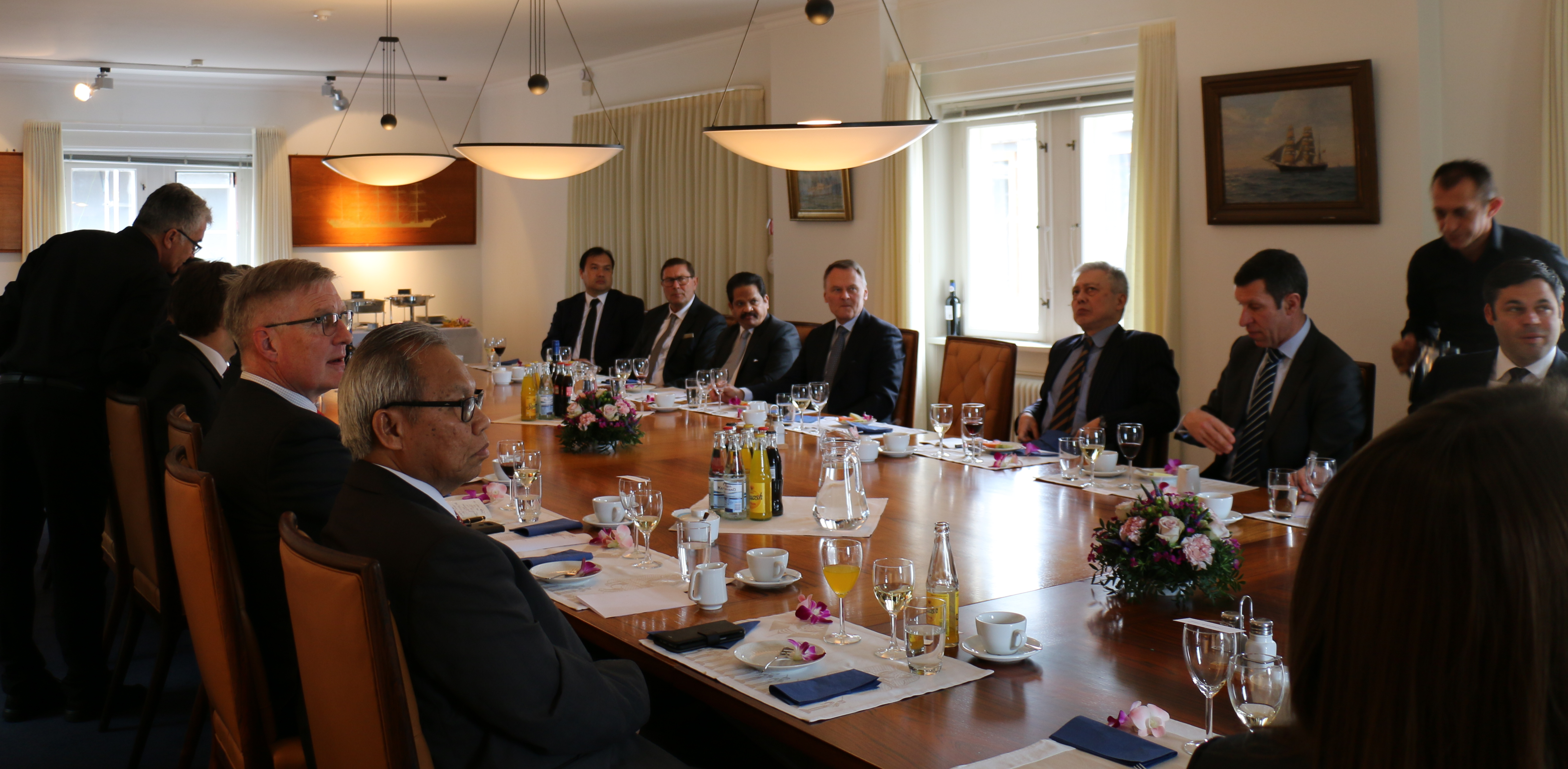 Spring Luncheon for Ambassadors from Asian Countries and Asia House Partners